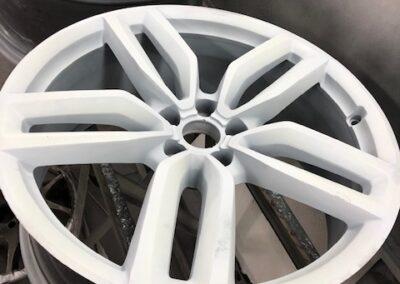Witte velg