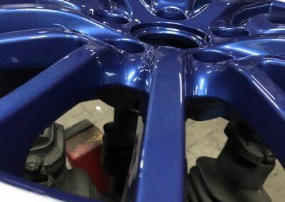 Blauwe velgen - De Velgendokter