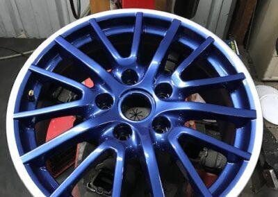 velgen kleuren blauw