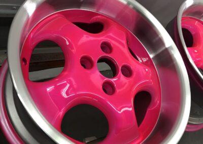 velgen kleuren roze
